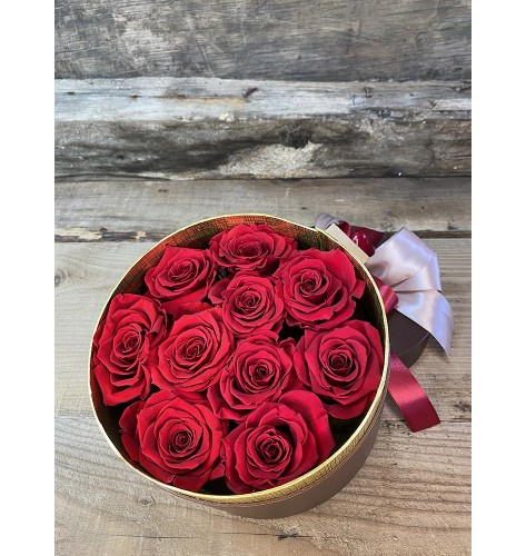 Red Roses Small Box