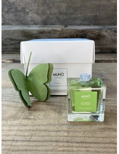 Diffusore di fragranza per ambienti, con farfalla in legno di betulla naturale. Formato da 50ml